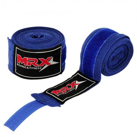 Boxing hand wraps blue 001-BLU