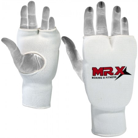 MRX Karate Training Mitts White