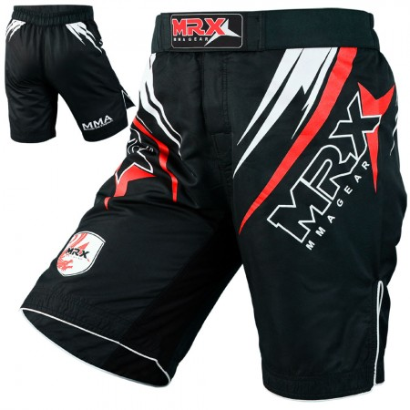mma short 1111-red