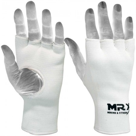 MRX BOXING INNER PROTECTIVE GLOVES WHITE