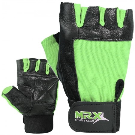 MRX Weight Lifting Gloves GYM Workout Glove Unisex 2602-GRN