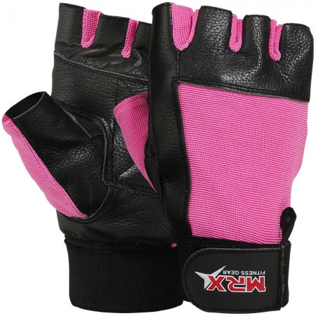 mrx women fitness gym gloves in pink