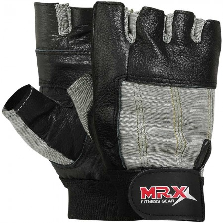 mrx men weight lifting gloves gray