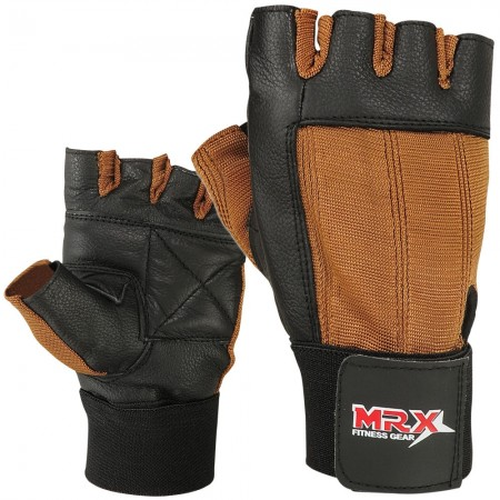 Weight Lifting Gloves Brown 2604-BRN