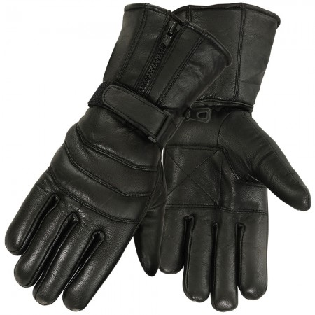 winter motorcycle gloves 3831-blk