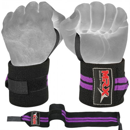 weight lifting wrist wrap 406-PUR