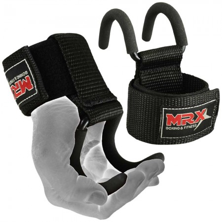 power weight lifting rod hook straps