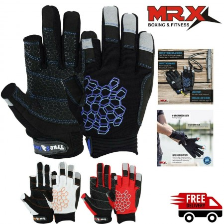 Sailing Gloves 2 Cut Fingers Unisex for Kayaking, Water Sports 8683