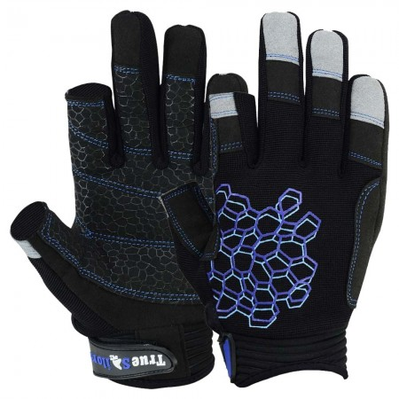 sailing gloves 2 cut fingers 8683-02 main