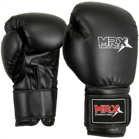 MRX BOXING GLOVES Black
