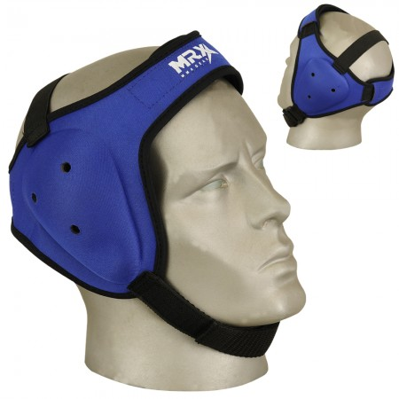 mma ear guards in blue color