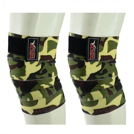 weight lifting knee wraps camo green1