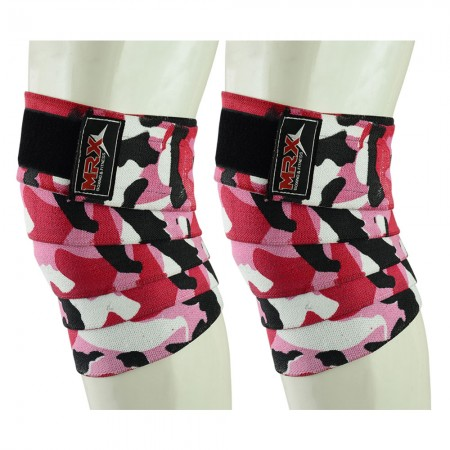 weight lifting knee wraps camo pink1