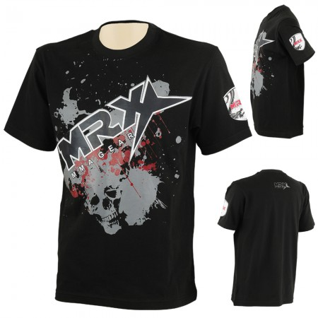 MMA T-Shirt Big Logo Black full view