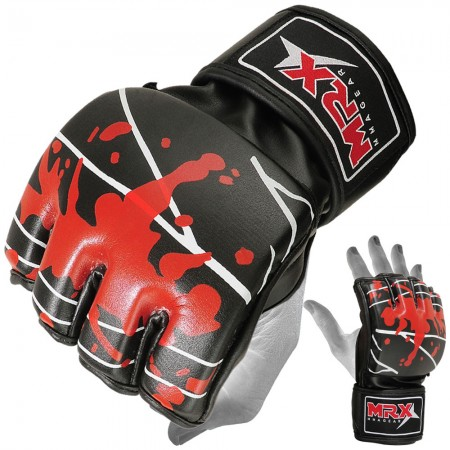 MMA Gloves Blood Series black