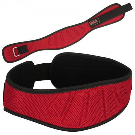 neoprene weight lifting belt 2008-RED