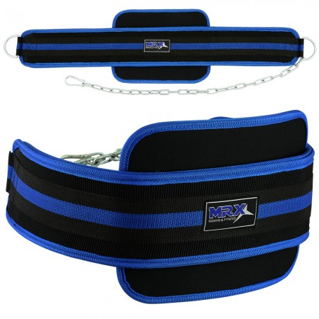 mrx dip belts neoprene blue black1