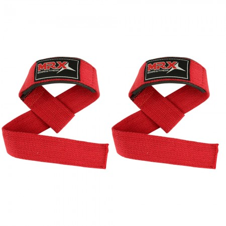mrx power weight lifting bar straps red