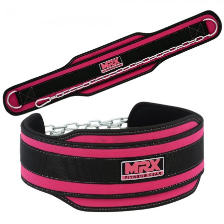 new mrx dip belt for women in pink color 1