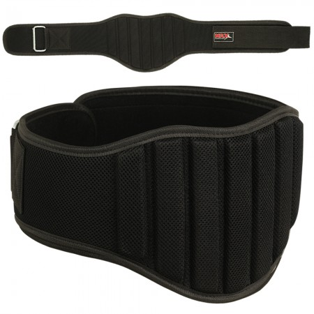 men weight lifting belt 2004-blk