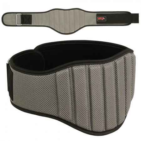 men weight lifting belt 2004-gry