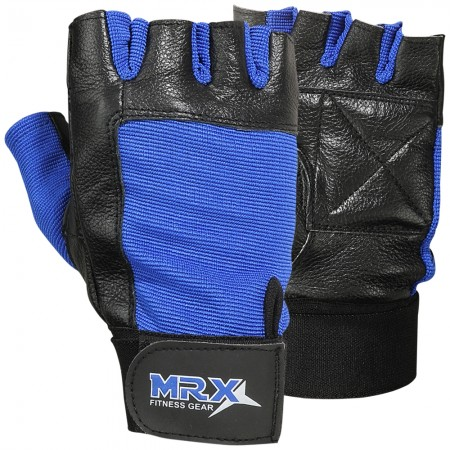 mrx weight lifting gym gloves blue
