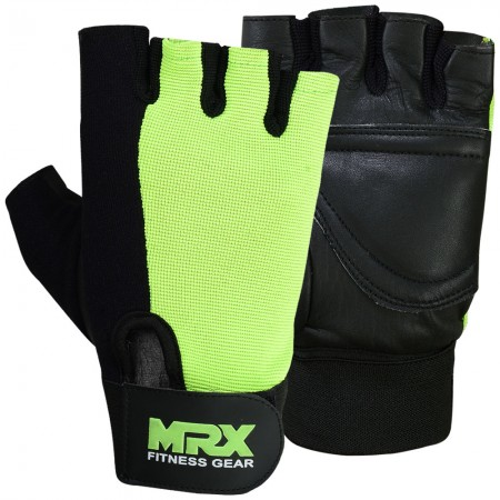 men weight lifting gloves 2613-grn