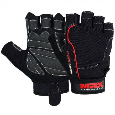 men weight lifting gloves 2609-BR
