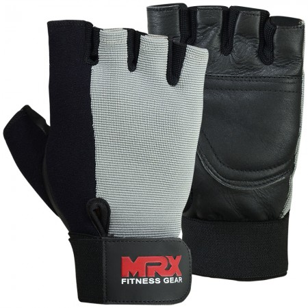 men weight lifting gloves 2613-GRY1