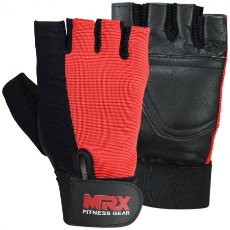 men weight lifting gloves 2613-red1