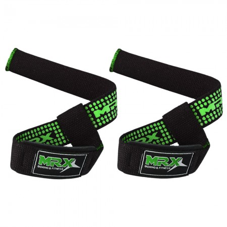 mrx wrist bar straps black green