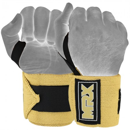 mrx new weight lifting wrist wraps tan