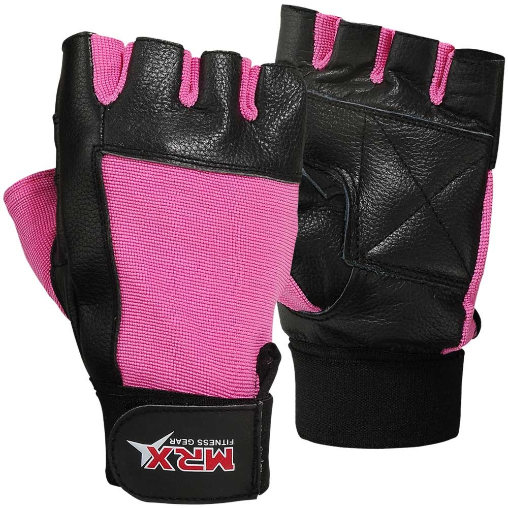 Women Weight Lifting Gloves Gym Fitness Training Mrx: MRX Women Weight Lifting Gloves Ladies Fitness Glove Pink