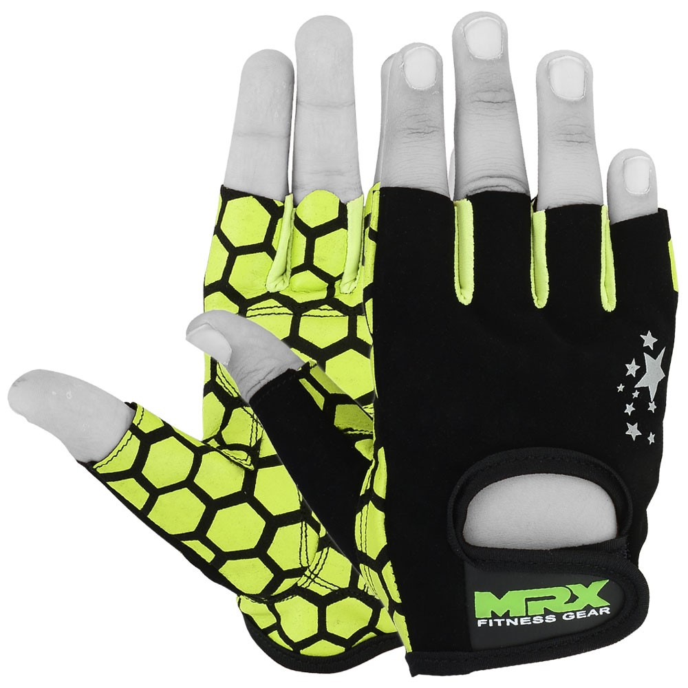 Women Weight Lifting Gloves Gym Fitness Training Mrx: Women's Weight Lifting Gloves