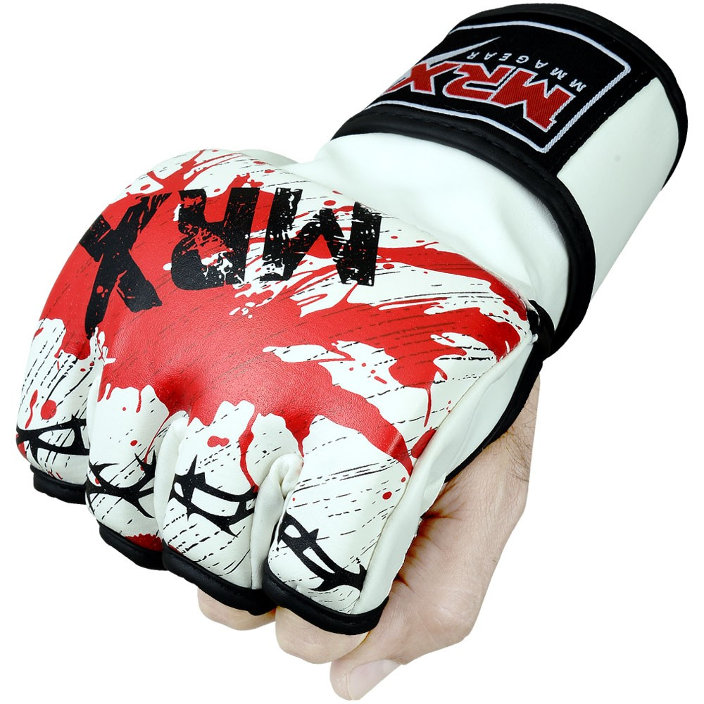 mrx mma grappling gloves blood series by mrx 4