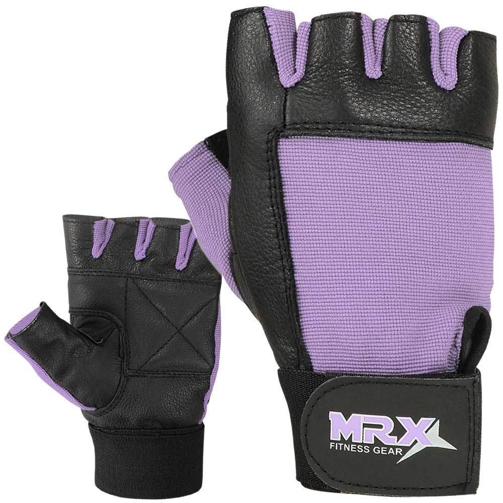 MRX Women's Weight Lifting Gloves GYM Workout Glove 2602-LAV