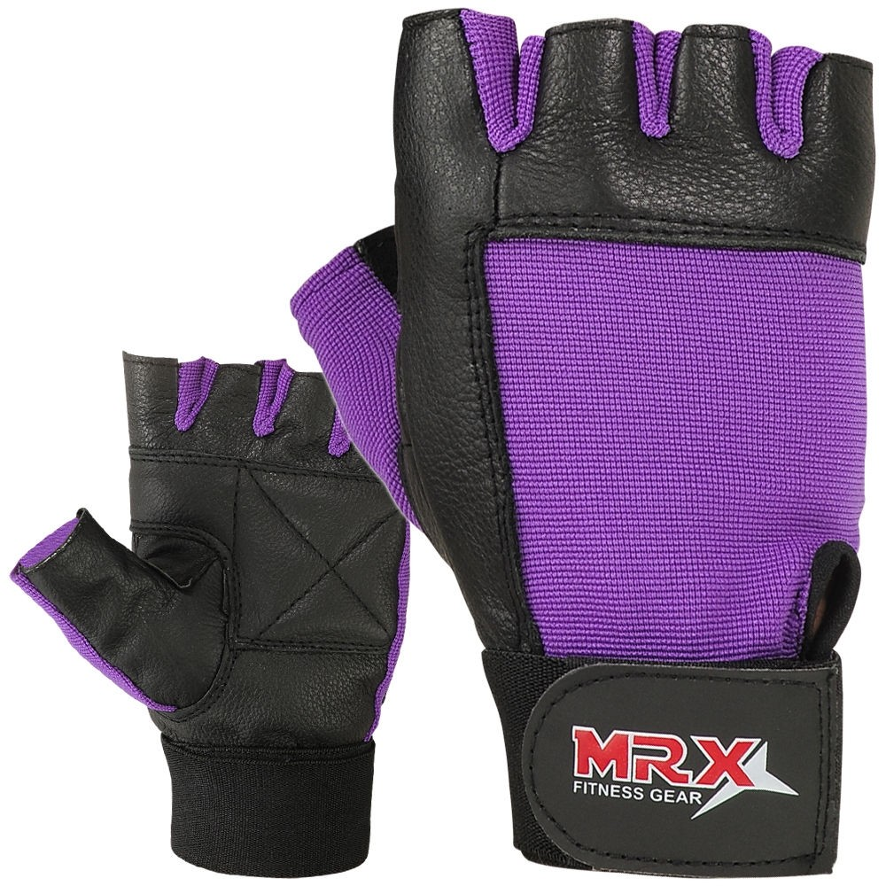 MRX Women's Weightlifting Gloves GYM Workout Training Glove 2602-PUR