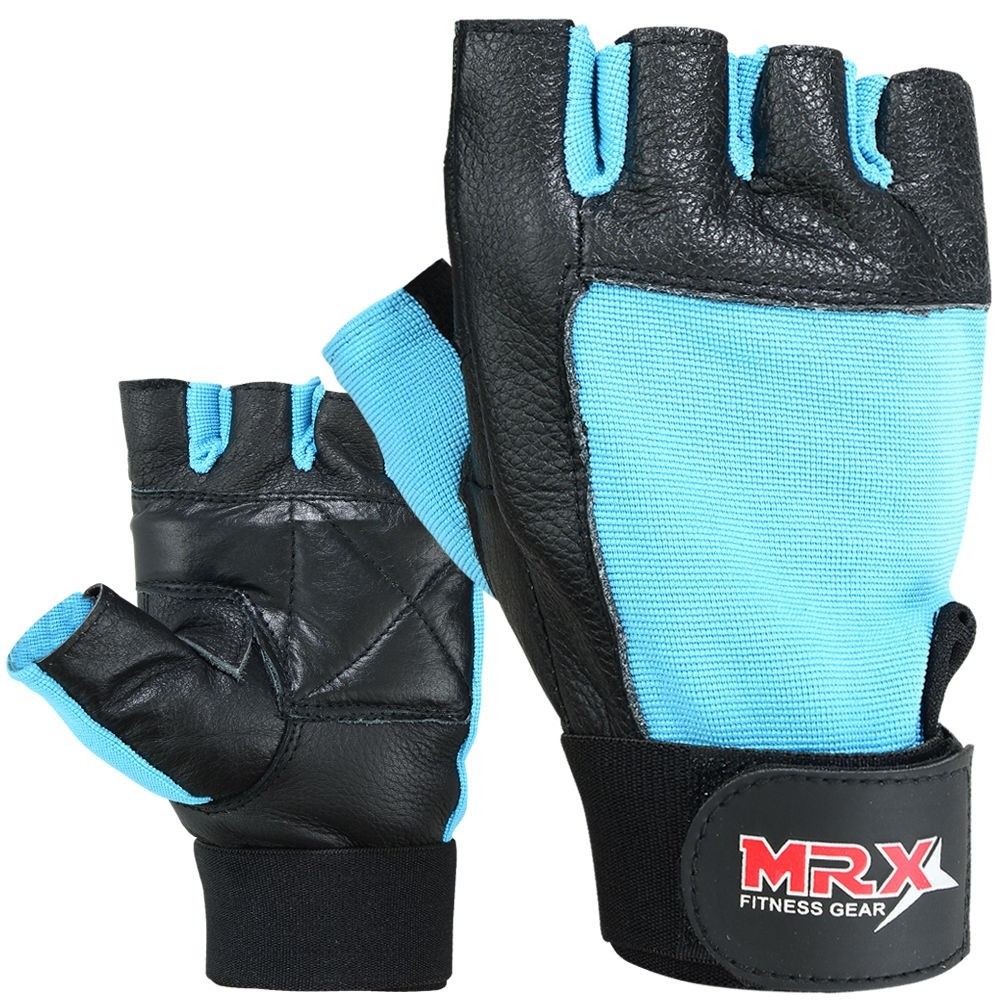 MRX Weightlifting Training Gloves GYM Workout Glove Unisex 2602-SKY