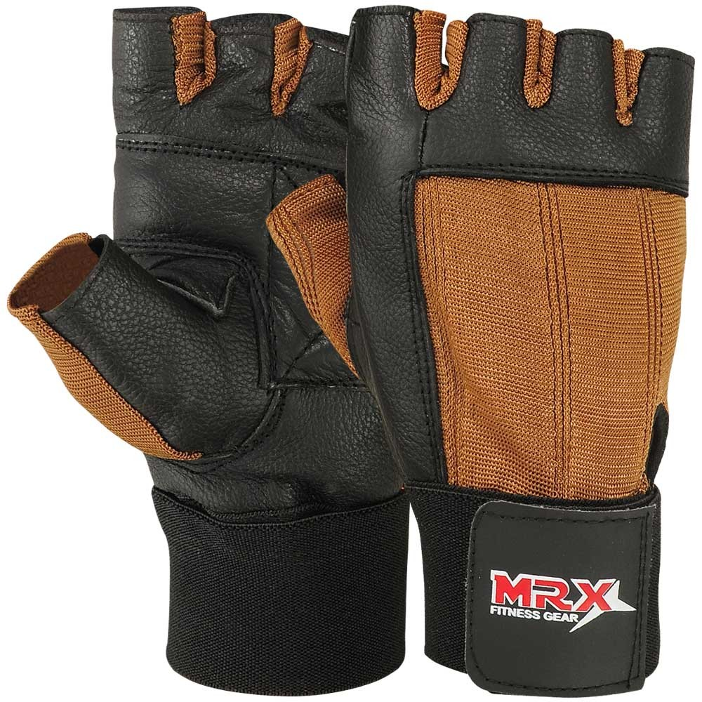 weight lifting gloves 2604-BRN