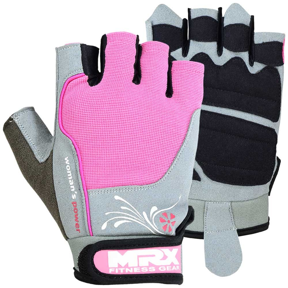 MRX WOMEN's WEIGHT LIFTING GLOVE PINK WOMAN GLOVES