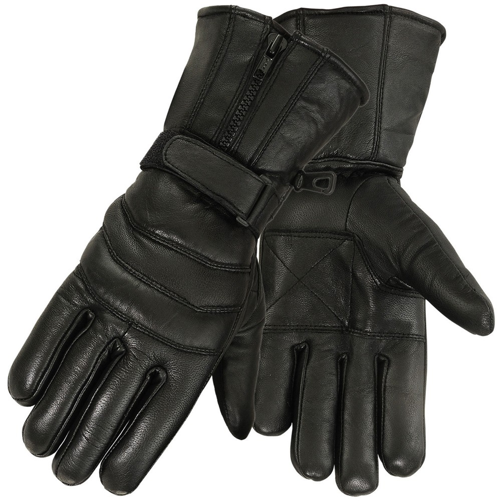 winter leather glove 3831-blk main