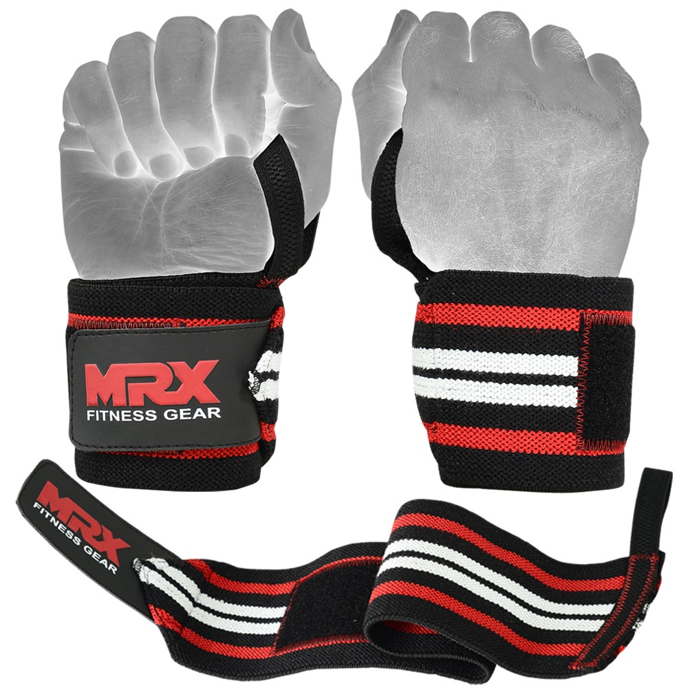 new weight lifting wrist support wraps red