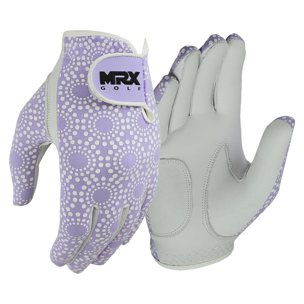 New Women Golf Gloves Cabretta Leather PURPLE