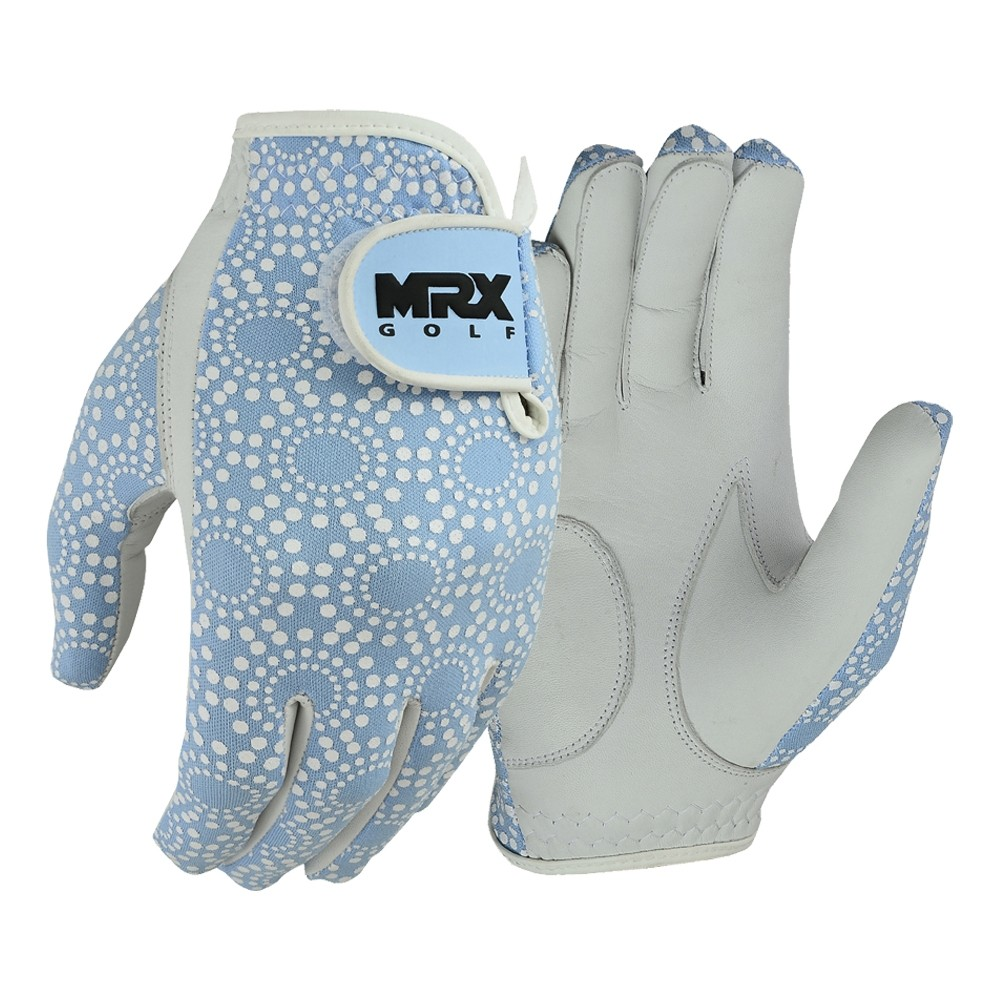 New Women's Golf Gloves Left Hand Cabretta Leather SKY BLUE
