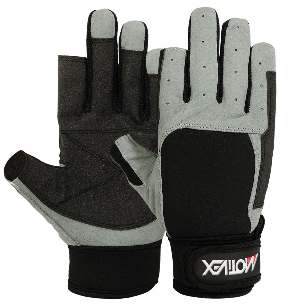 Sailing Gloves Cut Finger Style Yachting Glove in Amara Leather