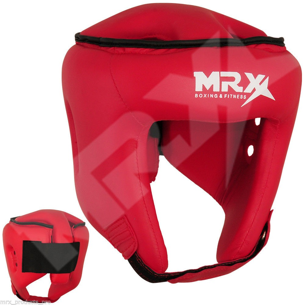 MRX BOXING HEAD GUARD RED