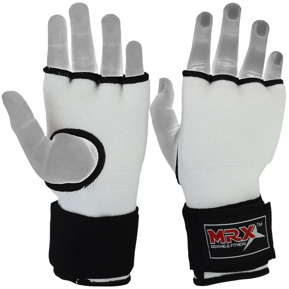 inner gloves with wraps black white full photo