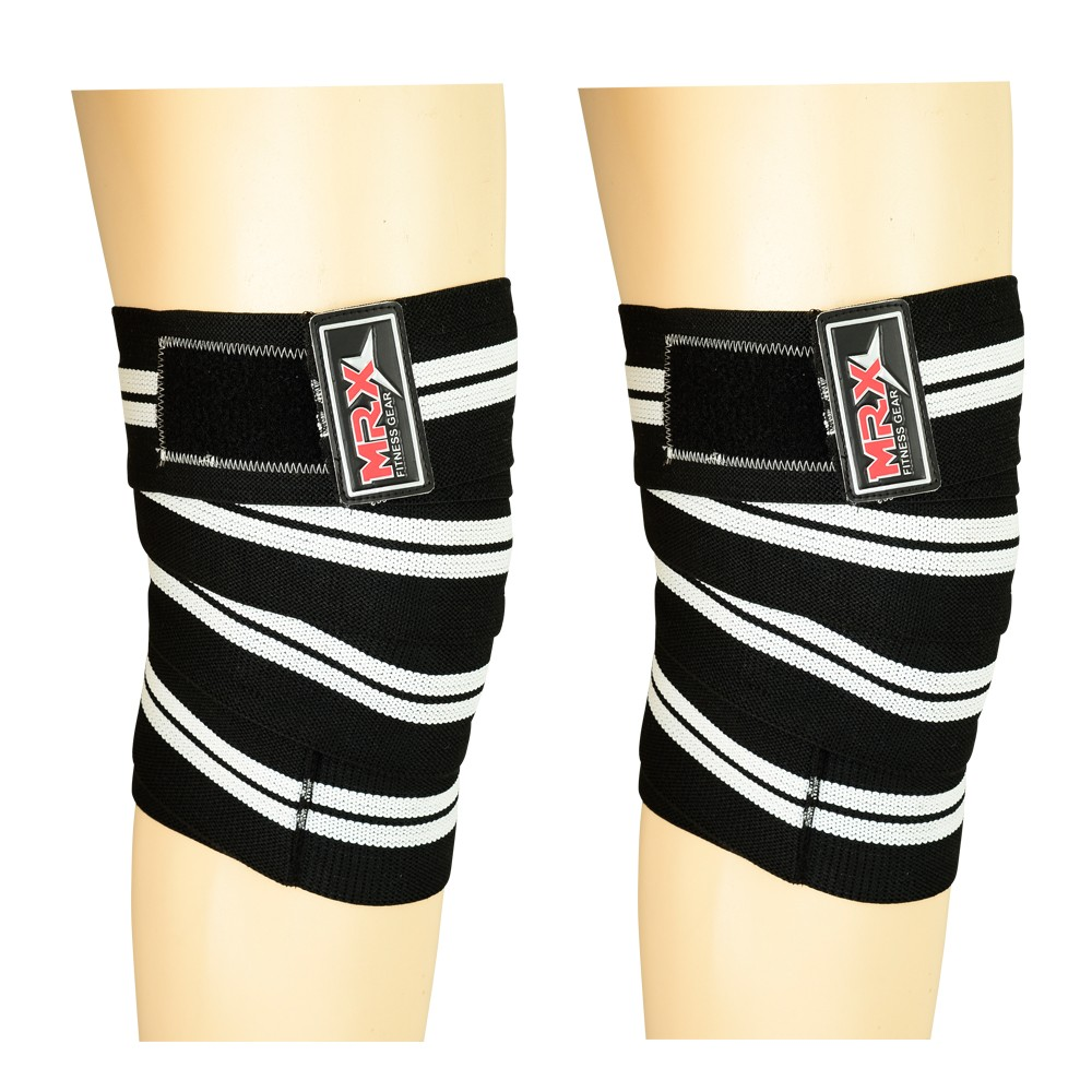 MRX WEIGHT LIFTING KNEE WRAPS SUPPORT