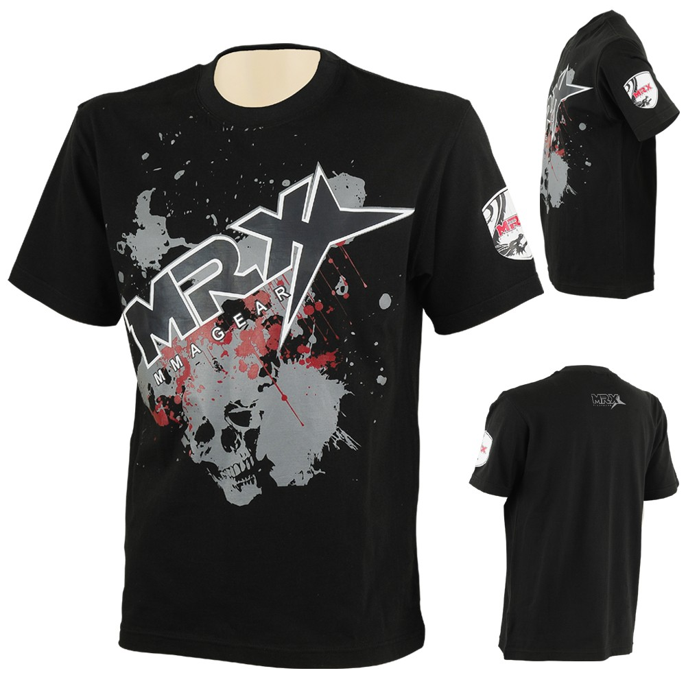 MRX MMA T-Shirt Black Color