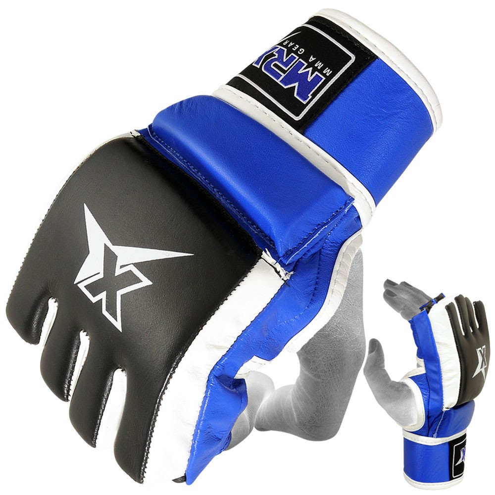 MRX MMA SPARRING GLOVES COWHIDE LEATHER
